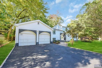 Closter Single Family Home For Sale: 80 Harrington Avenue