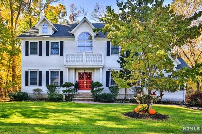 Mahwah Single Family Home For Sale: 40 Franklin Street