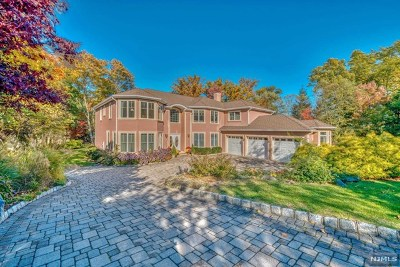 Woodcliff Lake Single Family Home For Sale: 12 Folding Farm Court