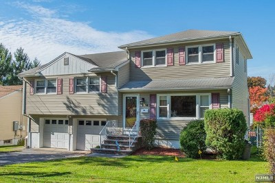Clifton Single Family Home For Sale: 276 Pershing Road