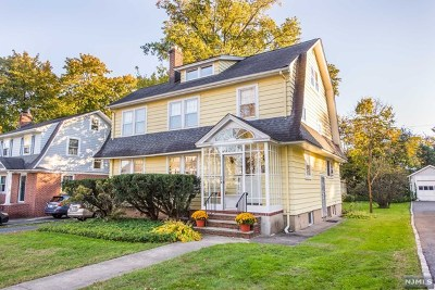 Essex County Single Family Home For Sale: 52 Carolin Road