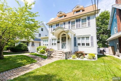 Hudson County Single Family Home For Sale: 5 Clinton Avenue