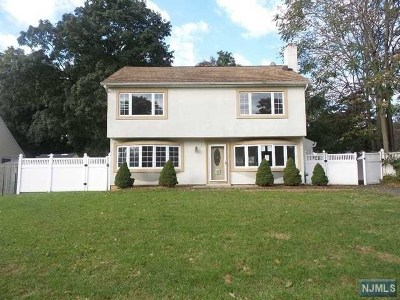 Pompton Lakes Single Family Home For Sale: 32 Spruce Road