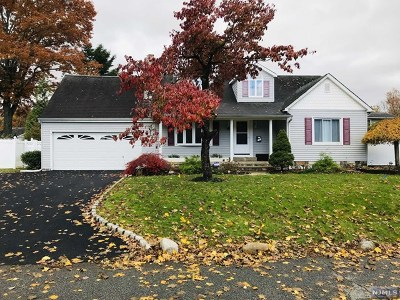 Pompton Lakes Single Family Home For Sale: 130 Poplar Avenue