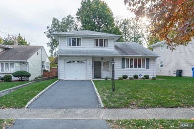 Rutherford Single Family Home For Sale: 108 Van Riper Avenue