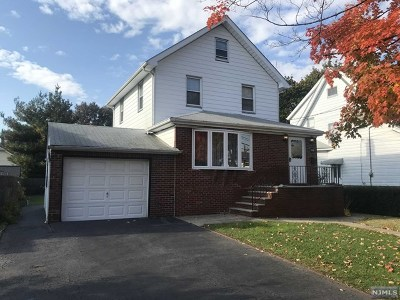 Hasbrouck Heights Single Family Home For Sale: 226 Williams Avenue