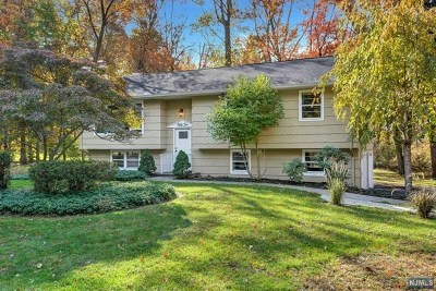 Mahwah Single Family Home For Sale: 52 Brookwood Drive