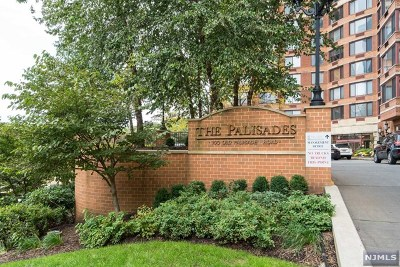 Fort Lee Condo/Townhouse For Sale: 100 Old Palisade Road #3511