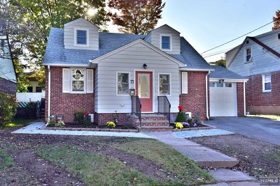 Rochelle Park Single Family Home For Sale: 77 Lexington Avenue