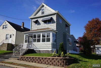Totowa Single Family Home For Sale: 45 Grant Avenue