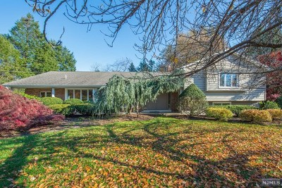 Woodcliff Lake Single Family Home For Sale: 95 Clairmont Drive