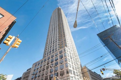 Hudson County Condo/Townhouse For Sale: 88 Morgan Street #2909