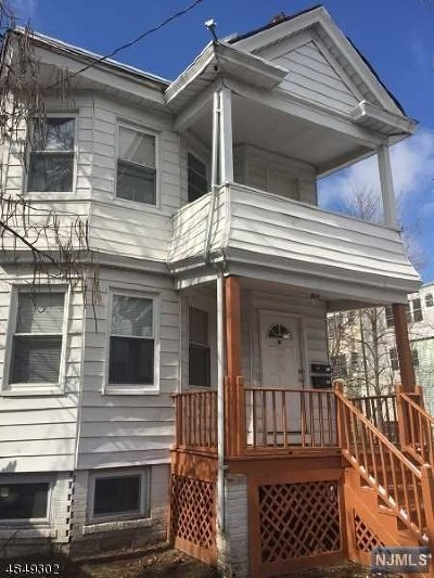 Essex County Multi Family 2-4 For Sale: 91 North 14th Street