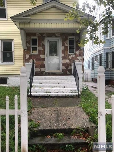 Essex County Single Family Home For Sale: 117 Lehigh Avenue