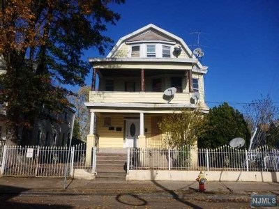 Paterson Multi Family 2-4 For Sale: 417-419 Hamilton Avenue
