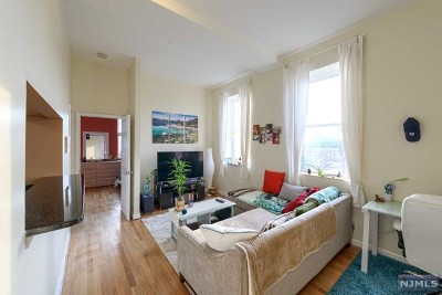 Jersey City Condo/Townhouse For Sale: 186 Wayne Street #321d