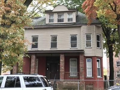 Essex County Multi Family 2-4 For Sale: 138 North Arlington Avenue