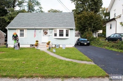 Rutherford Single Family Home For Sale: 388 Union Avenue