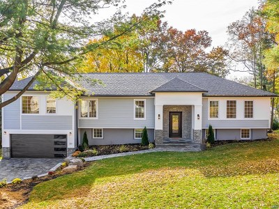Demarest Single Family Home For Sale: 121 Cross Street