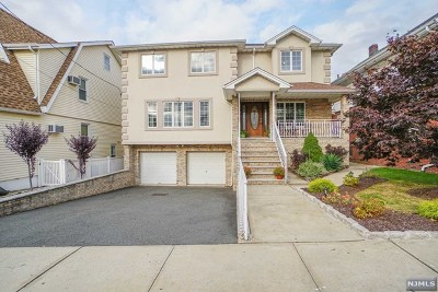 North Arlington NJ Single Family Home For Sale: $650,000
