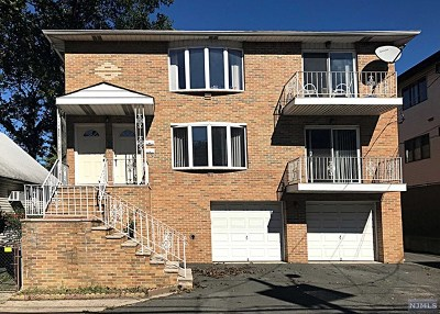 Cliffside Park Multi Family 2-4 For Sale: 215 Crescent Lane