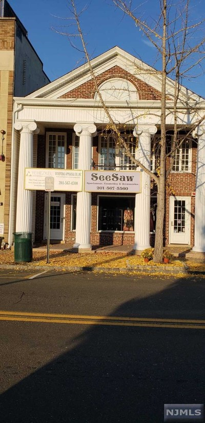 Tenafly Commercial For Sale: 6 West Railroad Avenue