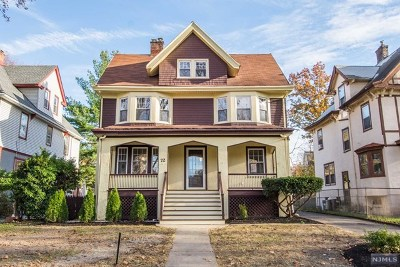 Essex County Single Family Home For Sale: 72 Roosevelt Avenue