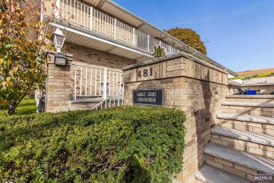 Bergen County Condo/Townhouse For Sale: 481 Walker Street #1-O