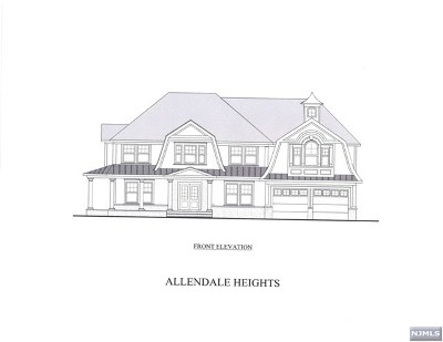 Allendale Single Family Home For Sale: 10 Weimer Court