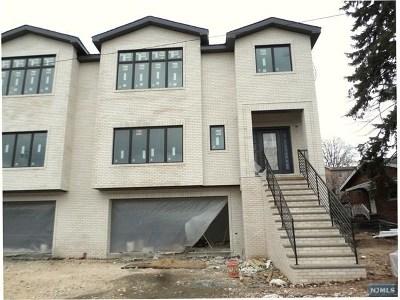 Palisades Park Condo/Townhouse For Sale: 338 Glen Avenue #B