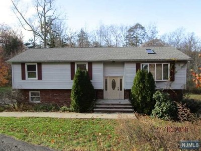 West Milford Single Family Home For Sale: 91 Bayonne Drive