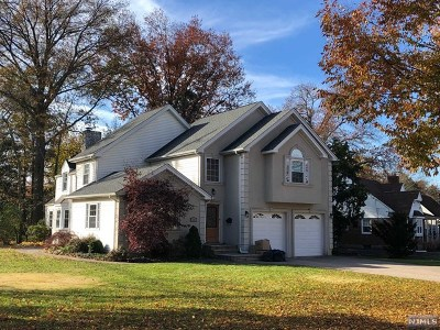 Glen Rock Single Family Home For Sale: 11 Hanover Place