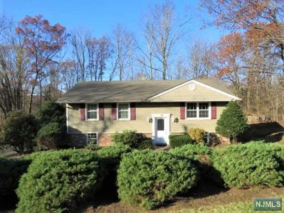 West Milford Single Family Home For Sale: 4 Hillview Court