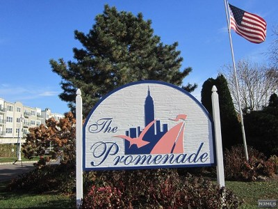 Edgewater NJ Condo/Townhouse For Sale: $409,000