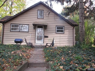 Rutherford NJ Single Family Home For Sale: $325,000