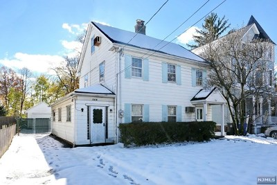Englewood NJ Single Family Home For Sale: $349,000