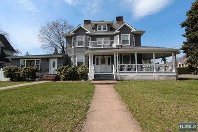 Hasbrouck Heights Multi Family 2-4 For Sale: 163 Terrace Avenue