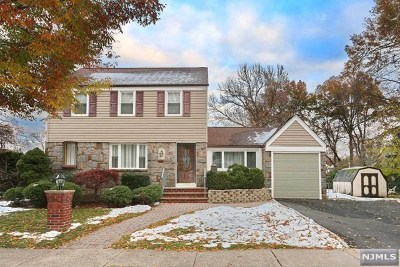 Bergen County Single Family Home For Sale: 492 Elm Avenue