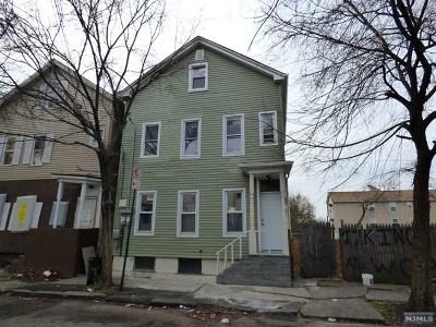 Paterson Multi Family 2-4 For Sale: 187 Clinton Street