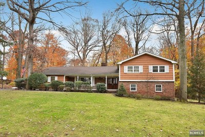 Woodcliff Lake Single Family Home For Sale: 48 Kenwood Drive