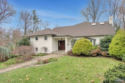 Englewood Cliffs Single Family Home For Sale: 21 Kimhunter Road