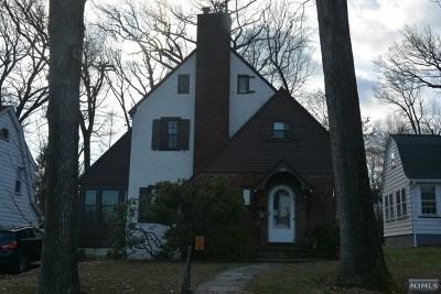 Hackensack Single Family Home For Sale: 221 Elm Avenue