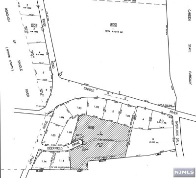 Woodcliff Lake Residential Lots & Land For Sale: Deerfield Drive