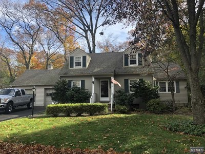 Glen Rock Single Family Home For Sale: 37 Valley Road