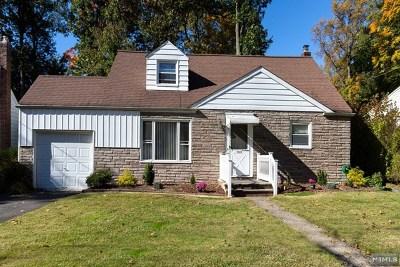 Hackensack Single Family Home For Sale: 153 Byrne Street