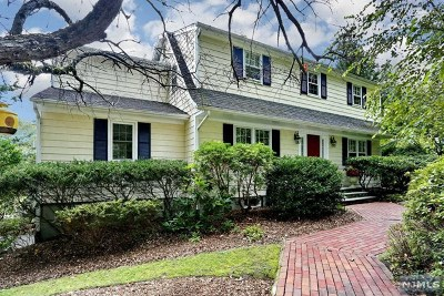 Upper Saddle River Single Family Home For Sale: 10 Hillside Avenue