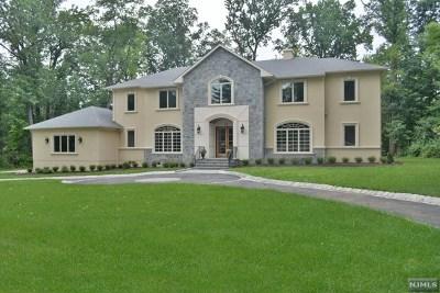 Upper Saddle River Single Family Home For Sale: 17 Stone Ledge Road