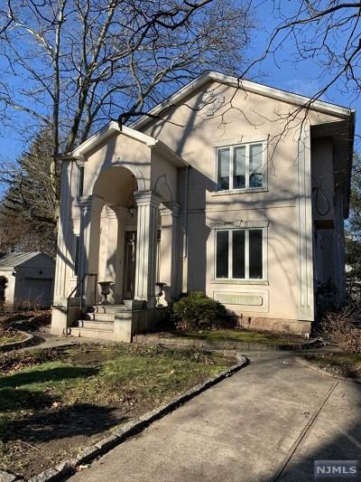 Tenafly NJ Single Family Home For Sale: $789,000
