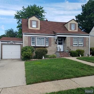 Hackensack Single Family Home For Sale: 149 Hopper Street