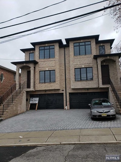 Palisades Park Condo/Townhouse For Sale: 55 West Edsall Avenue #A